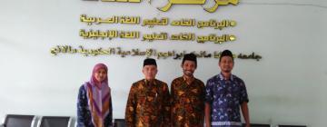 UPT Pusat Bahasa Jalin Studi Banding dan Kerjasama dengan Pusat Pengembangan Bahasa UIN Maulana Malik Ibrahim Malang